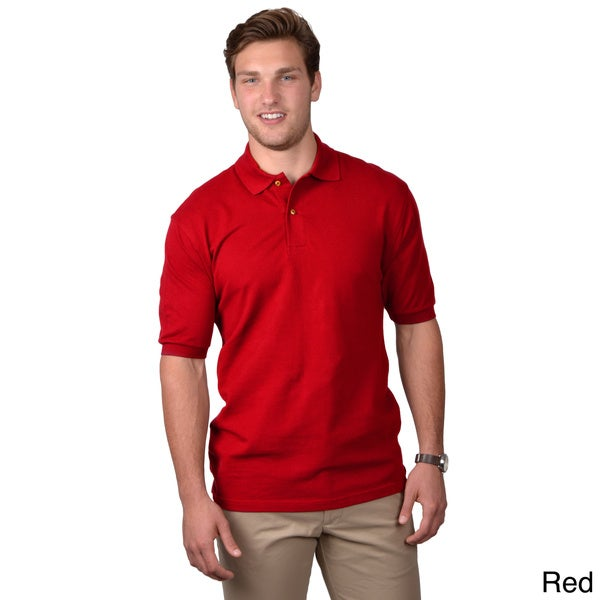 Boston Traveler Men's Short-sleeve Casual Polo Shirt