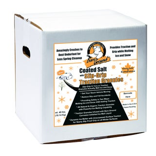 SlipGrip Infused 40-pound Coated Granular Blend Box