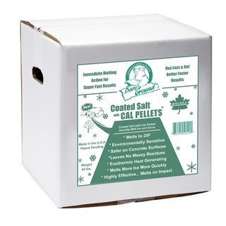 Bare Ground 40 Pound Box Coated Granular Blend with Calcium Chloride Pellets