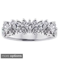 14k White Gold 1 1/5ct TDW Diamond Ring