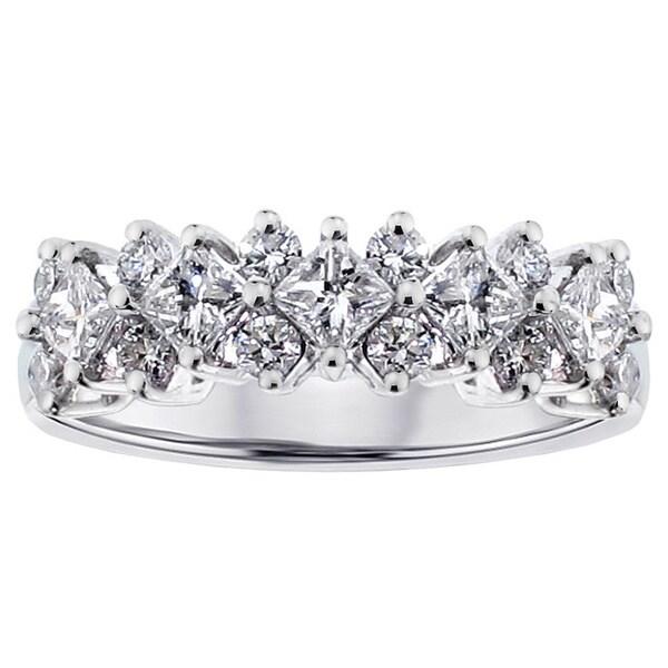 14k White Gold 1 1/5ct TDW Diamond Ring