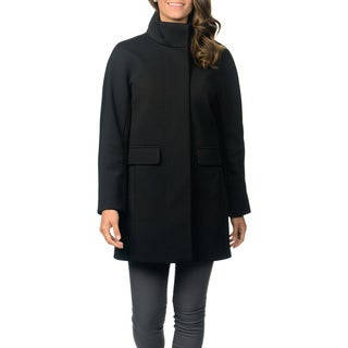 Vince Camuto Women's Black Soft Shell Jacket