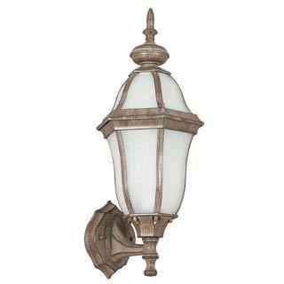Rubbed Bronze Outdoor Wall Lantern