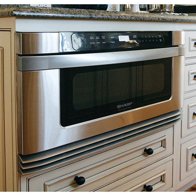 Sharp Insight Pro Series Built-In 24-inch Microwave Drawe...