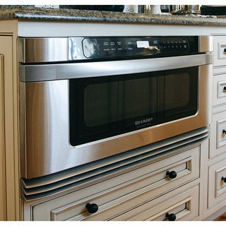 Sharp Insight Pro Series Built In 24 Inch Microwave Dr