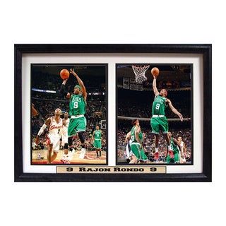 Boston Celtics 'Rajon Rondo' 12x18-inch Double Photo Frame