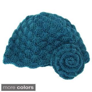 Handwoven Mollie Flower Cloche Hat (Nepal)