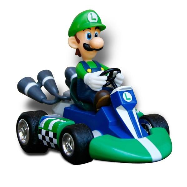 Super Mario Brothers 1 24 Scale Remote Control Luigi Car