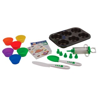 Curious Chef 16-piece Cupcake Kit