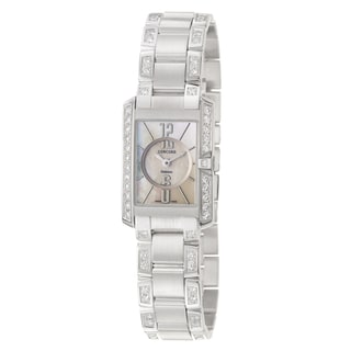 Concord Women's 'Delirium' 18K White-gold Accented Swiss Quartz Watch