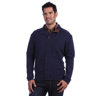 Luigi Baldo Italian Made Men's Cashmere Full Button Cardigan
