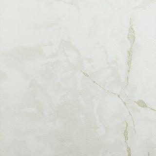 Achim Nexus Classic White with Grey Veins 12x12 Self Adhesive Vinyl Floor Tile - 20 Tiles/20 sq Ft.