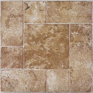 Vinyl Floor Tiles Self Adhesive self stick floor tile neat as tile flooring and marble floor tile Achim Nexus Beige Terracotta 12x12 Self Adhesive Vinyl Floor Tile 20 Tiles20 Sq