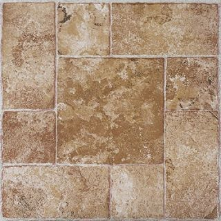 Achim Nexus Beige Terracotta 12x12 Self Adhesive Vinyl Floor Tile - 20 Tiles/20 sq Ft.