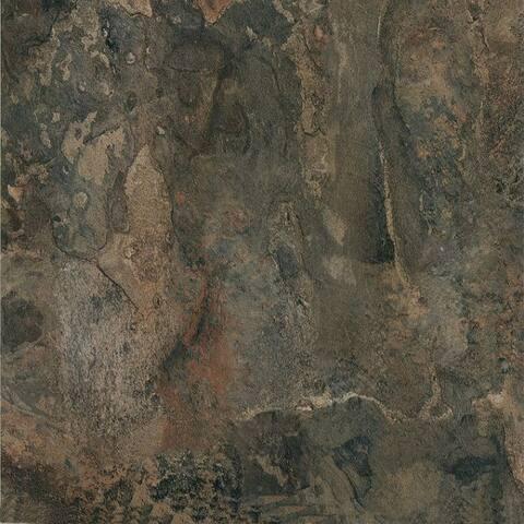 Achim Nexus Dark Slate Marble 12x12 Self Adhesive Vinyl Floor Tile - 20 Tiles/20 sq. ft.