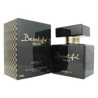 Johan B Beautiful Rich Women's 2.8-ounce Eau de Parfum Spray