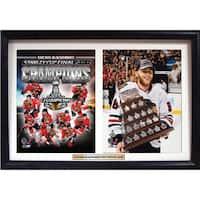 Chicago Blackhawks Patrick Kane 18 x 12-inch Double Custom Frame