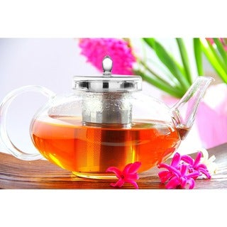 Tea Beyond Lead-free No-drip Special Glass 42oz/ 1242ml Teapot Harmony