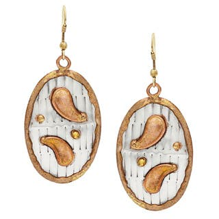 Handmade Oval Paisley Stainless Steel Earrings (India)|https://ak1.ostkcdn.com/images/products/8497804/Handmade-Oval-Paisley-Stainless-Steel-Earrings-India-P15783714.jpg?impolicy=medium