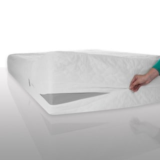Windsor Home Waterproof Bed Bug Dust Mite Cotton Mattress Protector