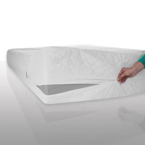 Windsor Home Waterproof Bed Bug Dust Mite Cotton Mattress Protector