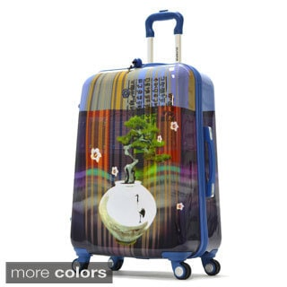 Olympia 'Arirang' Art Series 25-inch Medium Hardside Spinner Upright Suitcase