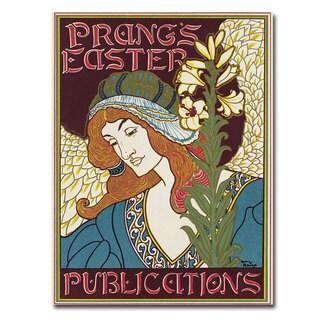 Louis Rhead 'Prang's Easters Publications' Canvas Art