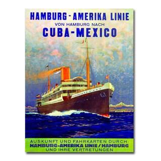 Unknown 'Cuba-Mexico' Canvas Art