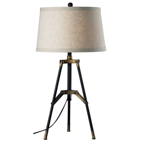 Functional Tri-Pod Table Lamp