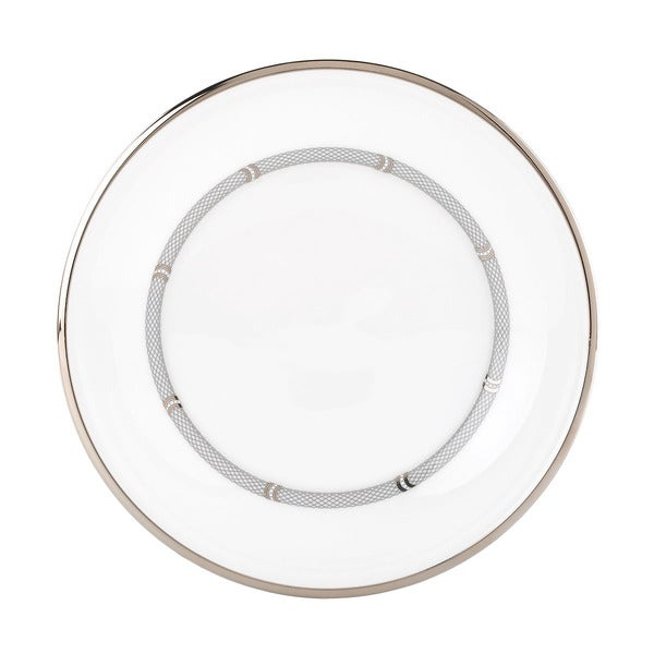 Lenox Solitaire White Accent Plate