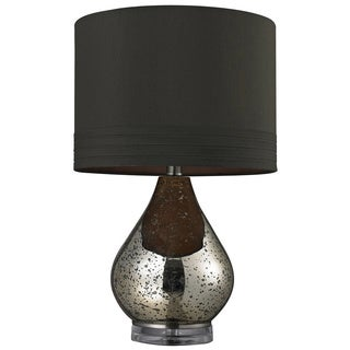 Mercury Glass 1-light Gold Table Lamp