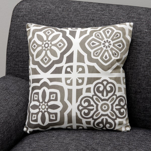 Paros Natural Decorative Pillow (India)