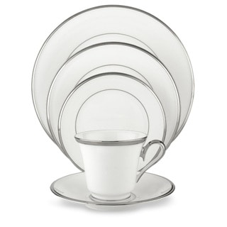 Lenox Solitaire White 5-piece Dinnerware Place Setting