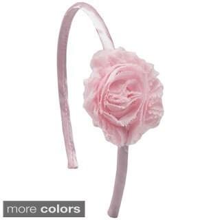 Shabby Chic Chiffon Flower Headband