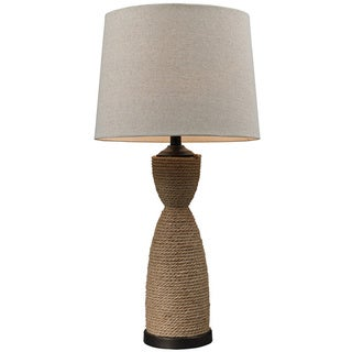 Rope Wrapped 1-light Natural Table Lamp