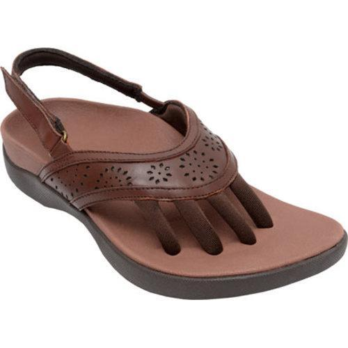 Shop Women S Wellrox Nia Brown Leather Free Shipping