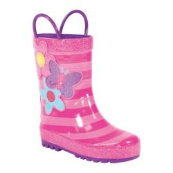 Girls' Western Chief Blossom Cutie Rain Boot Pink