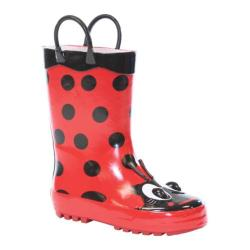 Girls' Western Chief Ladybug Boot Red