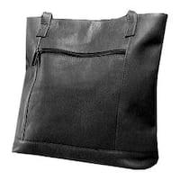 Women's David King Leather 1065 Shopper Black