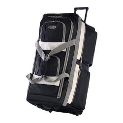 Olympia 33in 8 Pocket Rolling Duffel Black