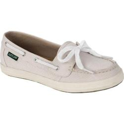 Women's Eastland Skip Tan Striped Canvas