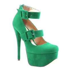 Women's Luichiny Once Bitten Green Imi Suede