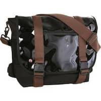 Token Lorimer Enamel Messenger Bag Black