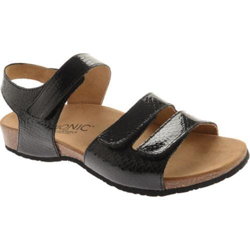 3afe05110d11 Shop Women s Vionic with Orthaheel Technology Valencia Black Snake - Free  Shipping Today - Overstock - 9300372