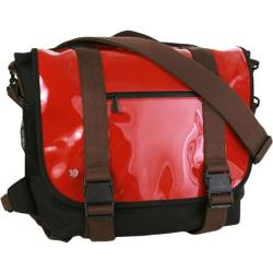 Token Lorimer Enamel Messenger Bag Red