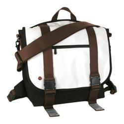 Token Lorimer Enamel Messenger Bag White