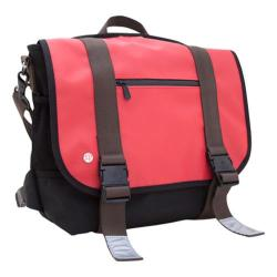 Token Lorimer Vinyl Messenger Bag Red