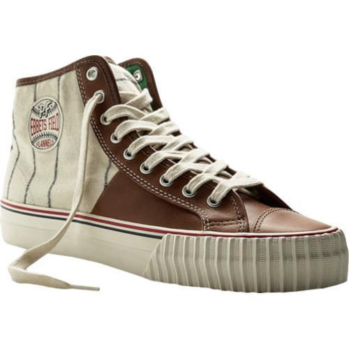 super popular e8117 d7147 Shop PF Flyers Ebbets Field Flannel Center Hi Brown White Flannel - Free  Shipping Today - Overstock - 9307435