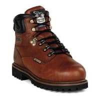 Men's Georgia Boot G63 6in Safety Toe Metatarsal Comfort Core Welt Greasy Briar Full Grain Leather