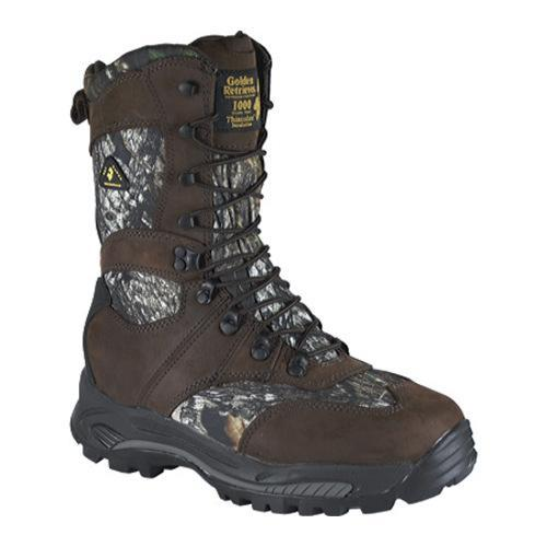 Men's Golden Retriever Footwear 4763 Brown Nubuck/Mossy Oak Break-